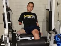 Young Nantwich boy with prosthetic leg to climb Snowdon for charity