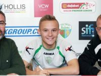 Wybunbury youngster signs Welsh Premier League deal