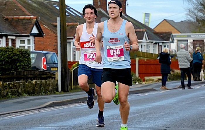 James Nicholls of South Cheshire harriers