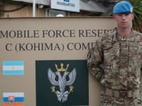 Nantwich soldier from 2 Mercian sends back Christmas message