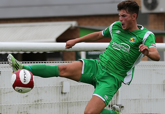 Jamie Morgan playing for Nantwich Town FC (4) (1)