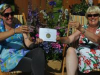 Nantwich students' dementia garden earns silver medal at RHS Flower Show