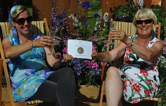 garden - Jane Bingham and Penny Hearn Silver Gilt