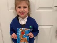 Schoolgirl's design chosen for MP Kieran Mullan's Christmas Card