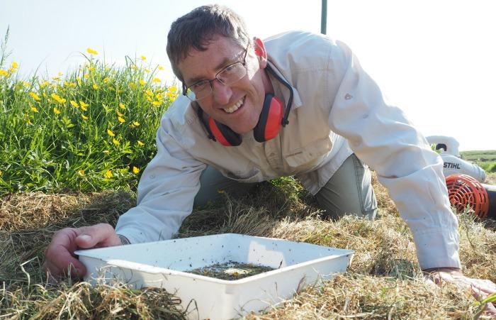 John Clarke discovers rare ladybird at cheshire wildlife trust open event