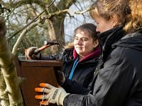 Nantwich students star in Cheshire Wildlife Trust community project