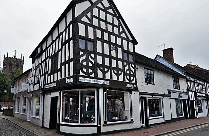 Jepsons menswear store in Nantwich - pic by Michael Garlick under creative commons licence