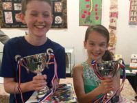 Young artists and scribes honoured at Nantwich Museum
