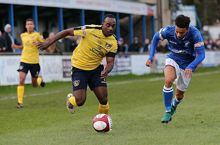 Joe Mwasile on the ball (2)