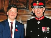 Nantwich teenager presented with Queen's Commendation Bravery