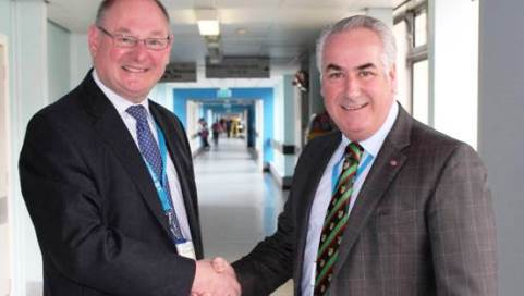 Leighton Hospital trust appoints new chairman Dennis Dunn