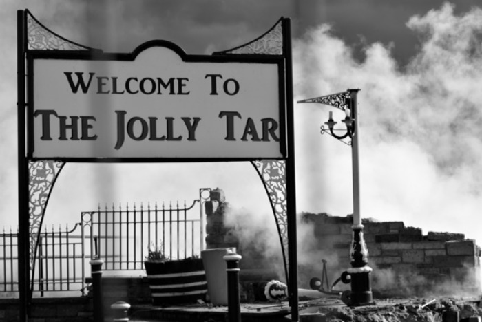 Jolly Tar destroyed by fire