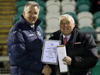 "Nantwich Town chairman Jon Gold ""delighted"" at fair play award"