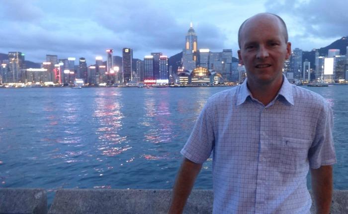 Jonathan White in Hong Kong