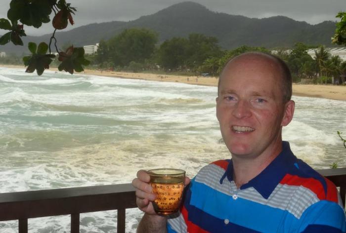 Jonathan White in Phuket Thailand