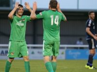Nantwich Town beat Rhyl Town 3-1 at Weaver Stadium