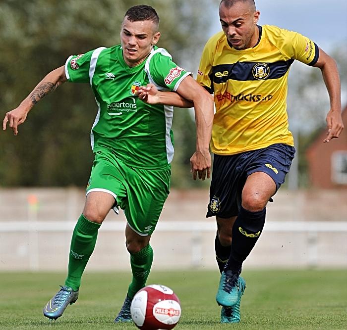 Jordan Davies for Nantwich Town