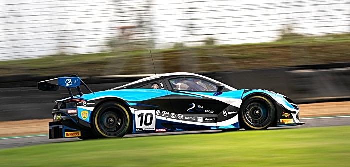 Jordan Witt in GT Championship McLaren - Brands Hatch