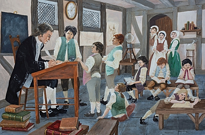 18th century - Joseph Priestley's School Nantwich by Les Pickford 1024 (1)