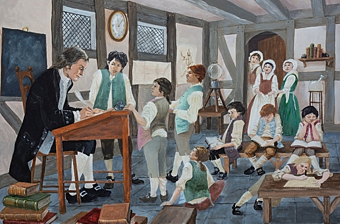 Joseph Priestley School Nantwich by Les Pickford 1024 (2) (1)