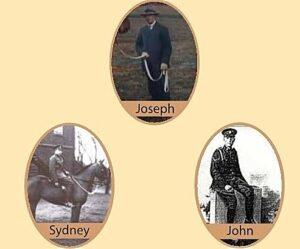 Joseph, Sydney and John Williams