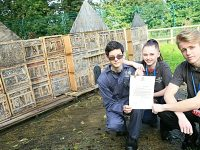 Reaseheath students' insect home receives Royal seal of approval
