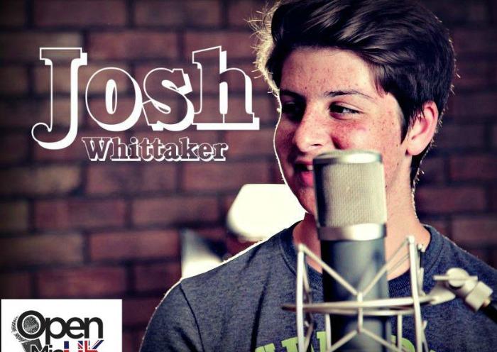 Josh Whittaker open mic promo