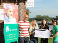 Aqueduct Marina staff raise £4,500 for The Joshua Tree