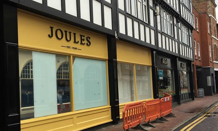 Joules in High Street Nantwich