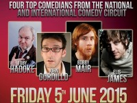 Bobby Mair to perform live at Nantwich comedy night