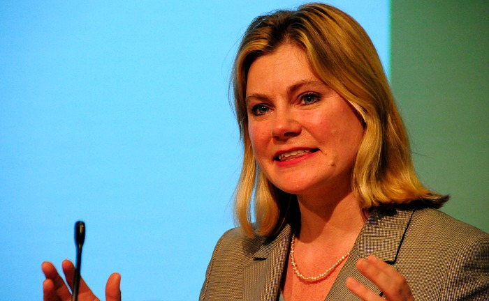 schools funding - Education Secretary Justine Greening - pic by Benet CoulberDFID