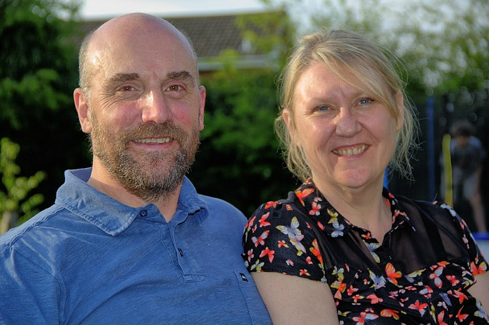karen and robert tulip, fostering family from nantwich