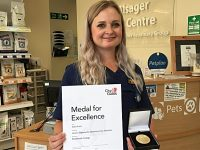Nantwich trained veterinary student wins prestigious award
