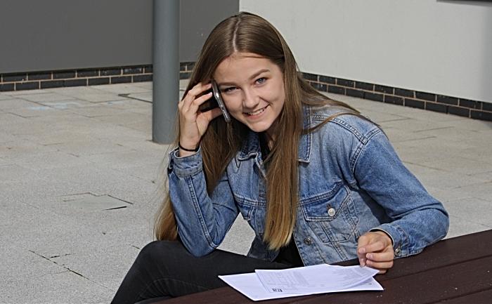 Katie Speakman at Brine Leas