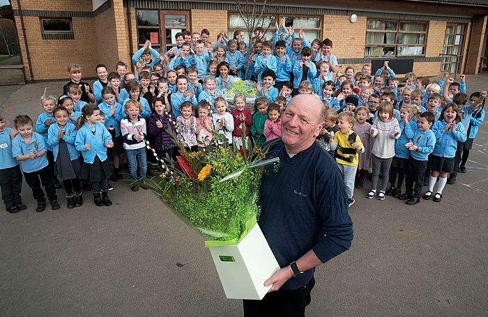 site manager Keith Challinor and Pear Tree Primary School - resize (1)