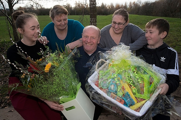 Keith and Angela Challinor and family - resize (1)