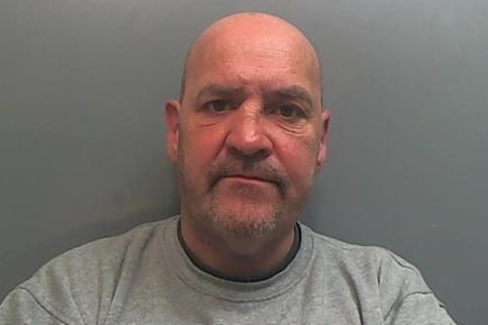 Homeless - Kevin Holleran - jailed - Cheshire Police image