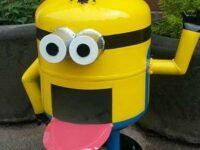 """""""Despicable"""" thieves swipe loved Minion Kevin from Nantwich garden"""