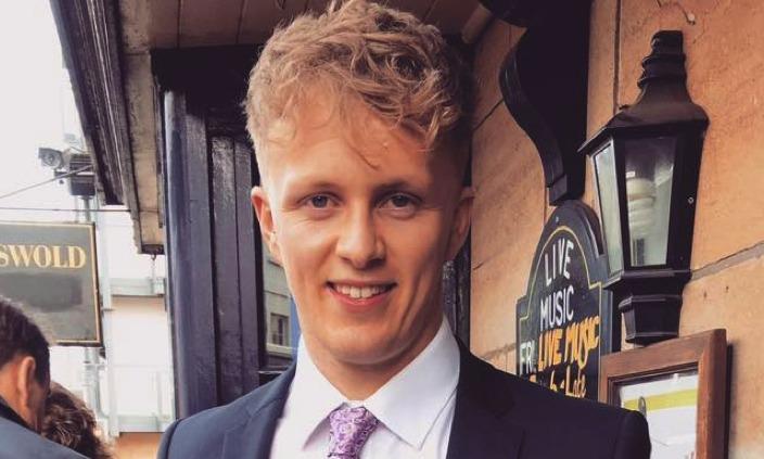 Tribute to Kieran Barker, killed on A500 Shavington bypass
