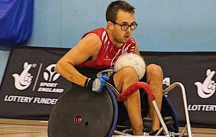 Kieran Flynn - wheelchair rugby for GB