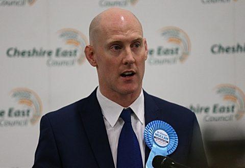 "Kieran Mullan calls Crewe & Nantwich win one ""for democracy"""