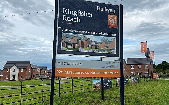 Kingfisher Reach signage (1) - noise