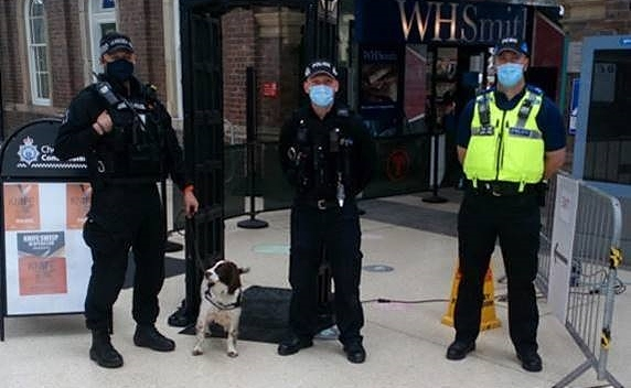 Knife crime operation at Chester Railway Station (1)