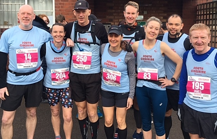 Knighton 20 race - harriers runners