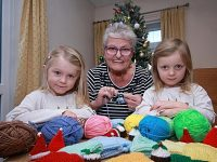 Children visit Nantwich knitting group as part of kindness campaign