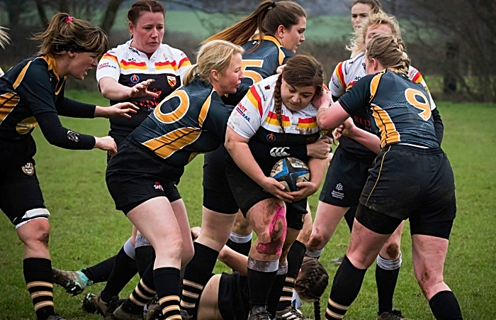 Ladies RUFC v Vagabonds 3