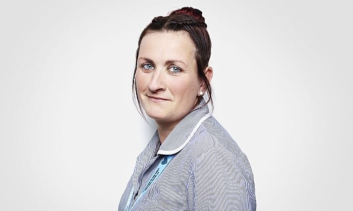 Laura Arrowsmith - leighton hospital cleaner - Rankin - NHS