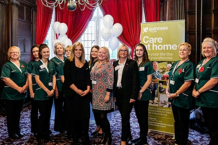Laura Smith MP and carers from Guinness Care - print (1)