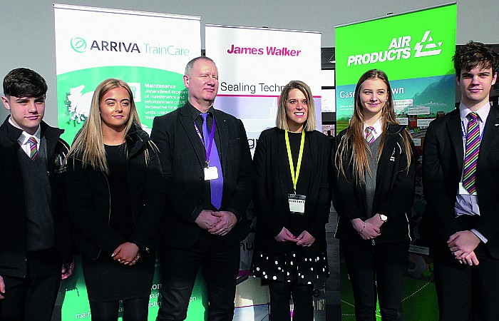 Laura Smith MP visit to Crewe UTC
