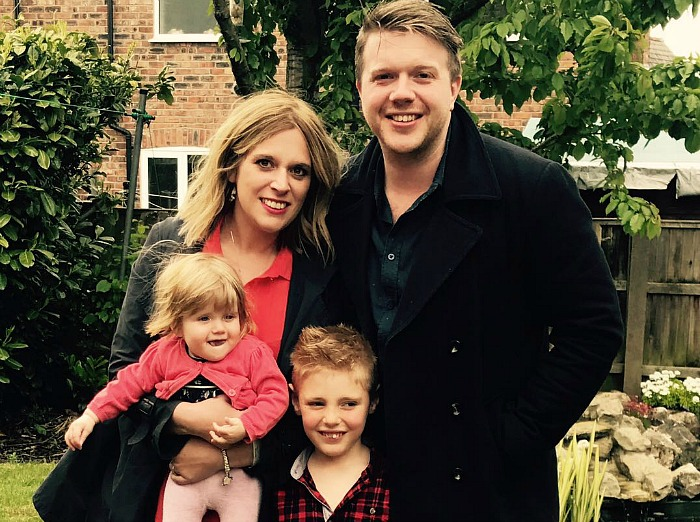 Laura Smith and family
